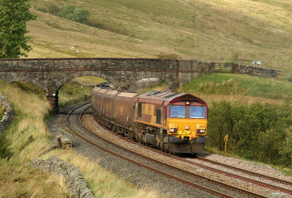 66093, 10.13 New Cumnock-Ratcliffe Power Station, Ais Gill, 20-9-07.