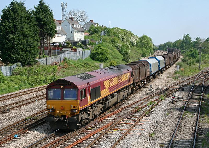 66142, 09.39 Round Oak-Margam, Somerton, Newport, 8-5-08.