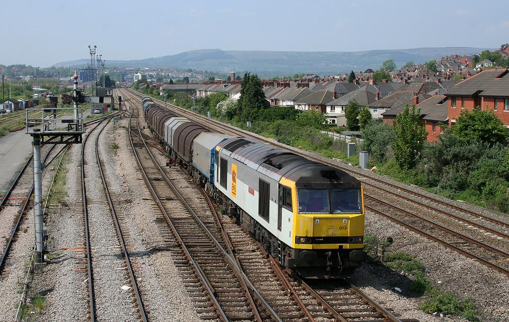 60013, 09.30 Dee Marsh-Margam, Somerton, Newport, 8-5-08.