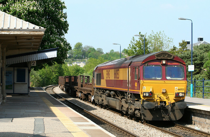 66053, 10.10 Corby-Margam, Chepstow, 8-5-08.