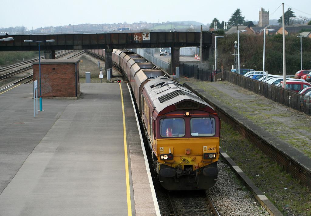 66127, 10.50 Aberthaw Power Station-Avonmouth Bulk Handling Terminal, Severn Tunnel Junction, 29-1-08.