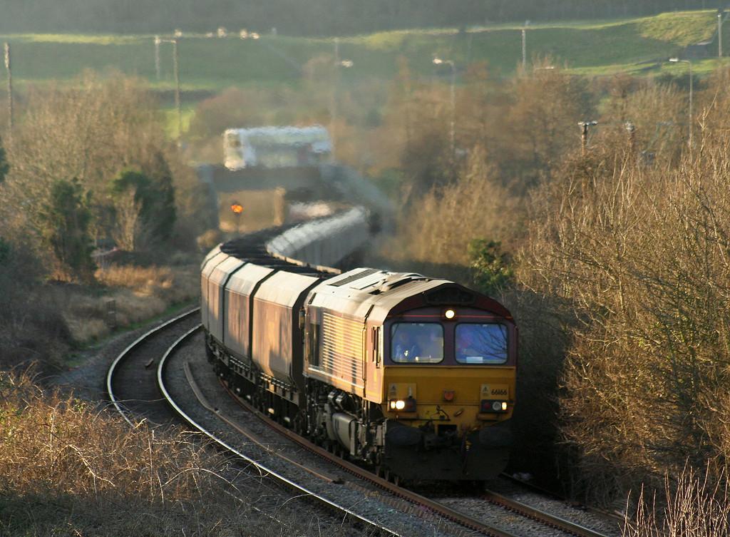 66166, 15.24 Avonmouth Bulk Handling Terminal-Didcot Power Station, Brentry, Bristol, 24-1-08.