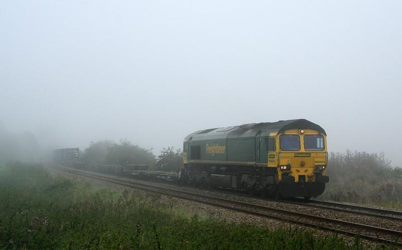 66504, diverted 03.10 Garston-Southampton, Upton Scudamore, near Westbury, 27-9-08.