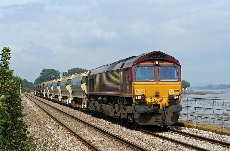 66181, 11.41 Westbury-?, Powderham, near Starcross, 14-9-08.
