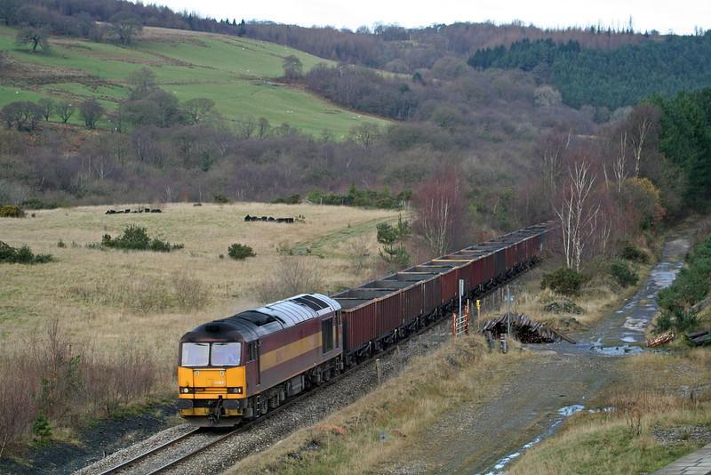 60039, 15.20 Onllwyn-Margam, Blaenant, near Neath, 29-11.08.