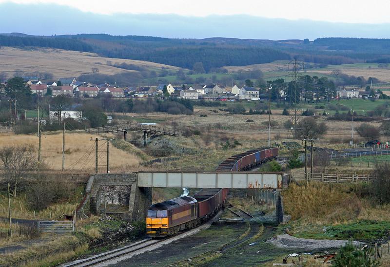 60039, 15.20 Onllwyn-Margam, departs Onllwyn, 29-11.08.