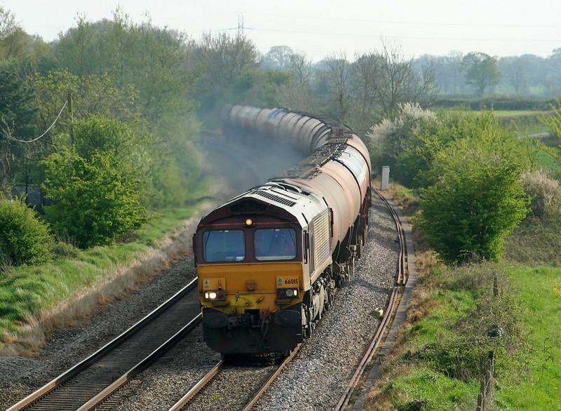 66015, 17.42 Westerleigh-Robeston, Rangeworthy, Gloucestershire, 21-4-09.