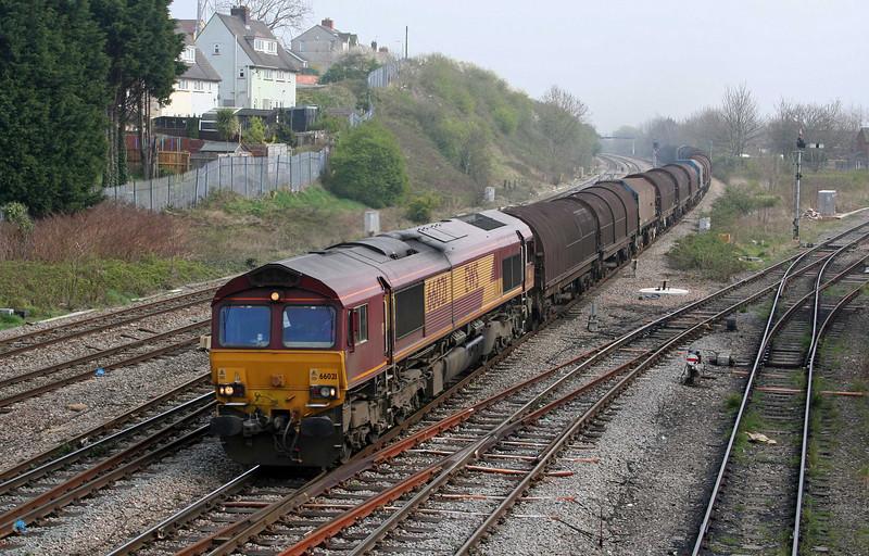66021, down steel, Somerton, Newport, 3-4-09.