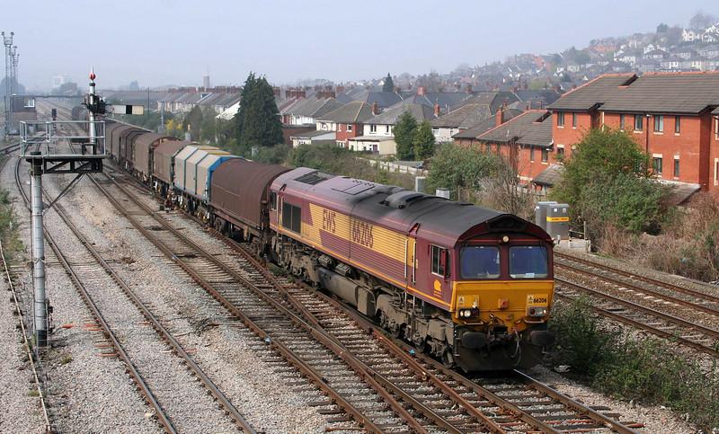66206, up steel or empties, Somerton, Newport, 3-4-09.