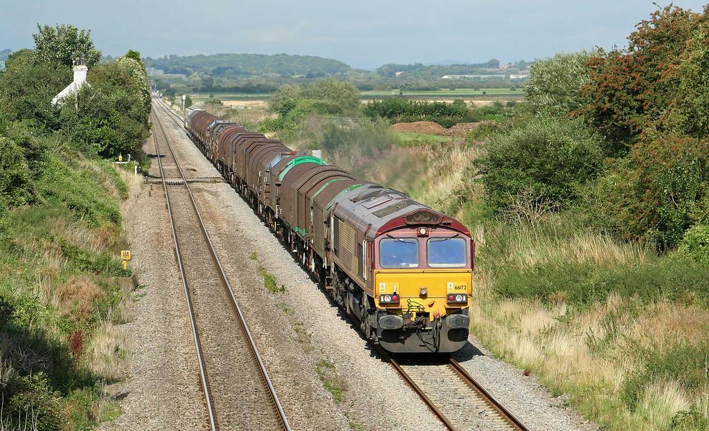 66172, 13.21 Round Oak-Margam, Woolaston, near Lydney, 24-8-09.