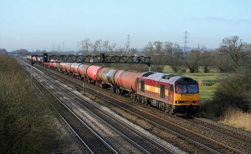 60085, 05:10 Robeston-Westerleigh, late, Coedkernow, near Newport, 11-2-09