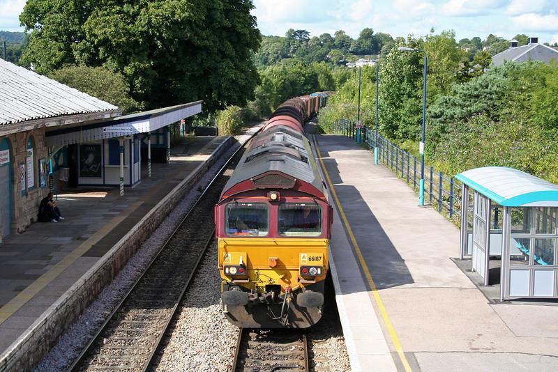 66187, 13.21 Round Oak-Margam, Chepstow, 30-7-09.