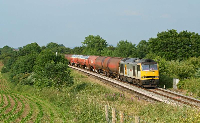 60013, 17.42 Westerleigh-Robeston, Sedbury Lane, Chepstow, 25-6-09.