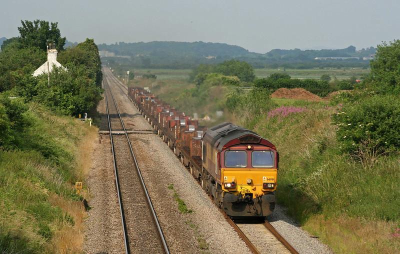 66061, 08.17 Lackenby-Margam, Woolaston, near Lydney, 25-6-09.