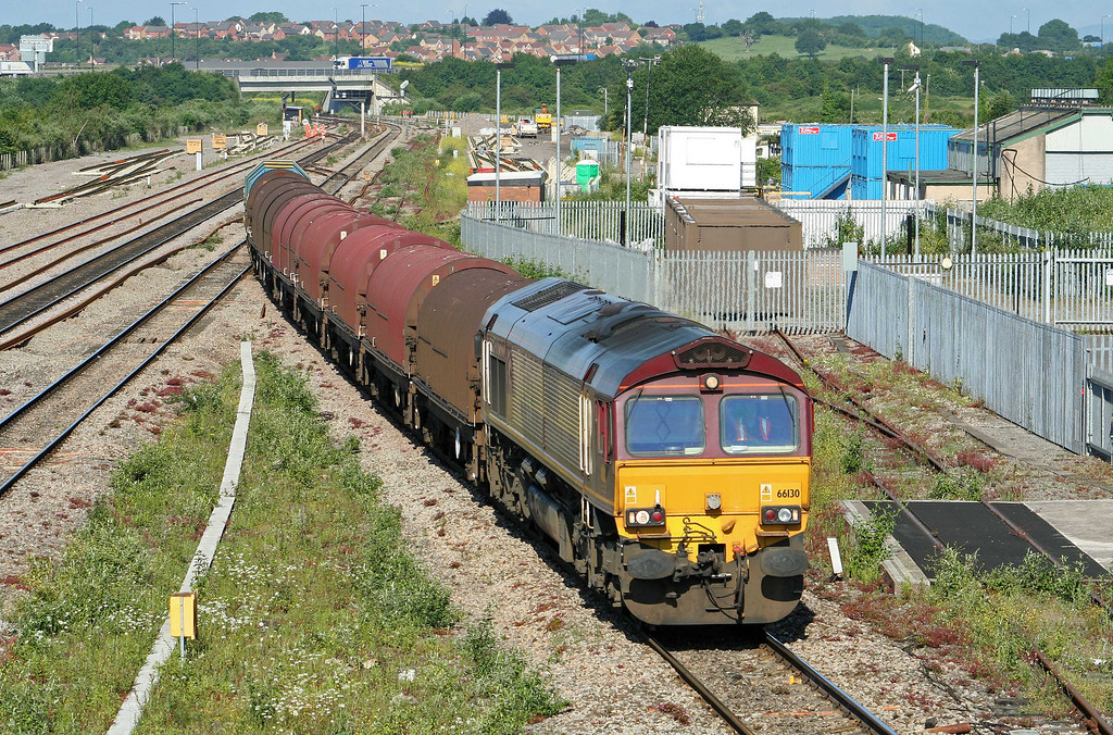 66130, 08.19 Llanwern-Swindon Steel Terminal, Severn Tunnel Junction, 16-6-09.