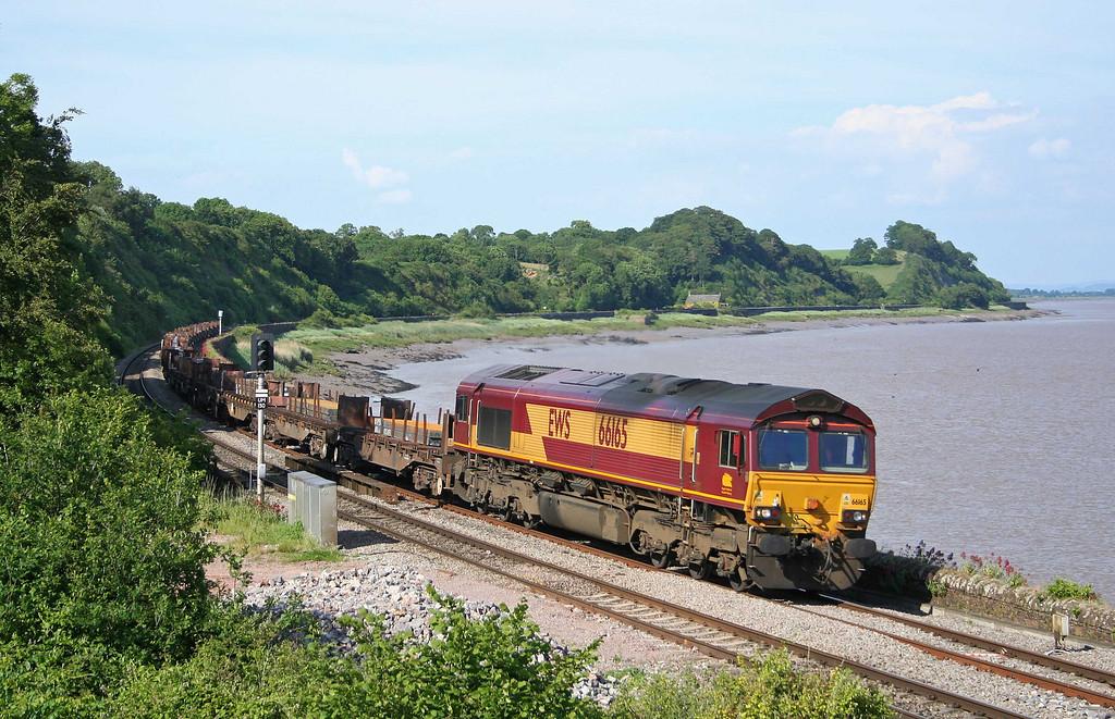 66165, 08.17 Lackenby-Margam, Purton, near Lydney, 16-6-09.