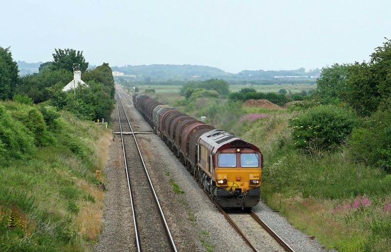 66130, 13.21 Round Oak-Margam, Woolaston, near Lydney, 25-6-09.