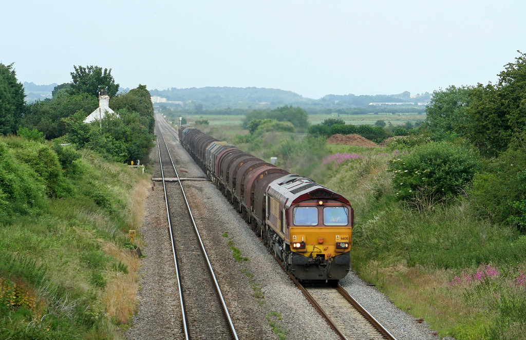 66130, 13.21 Round Oak-Margam, Woolaston, near Lydney, 25-6-09.