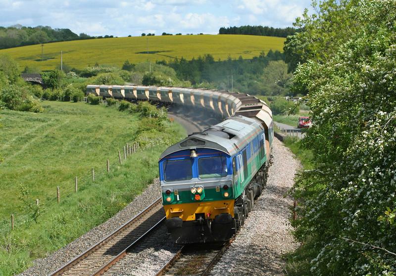 59001, 13.15 Theale-Whatley Quarry, Crofton, 21-5-09.