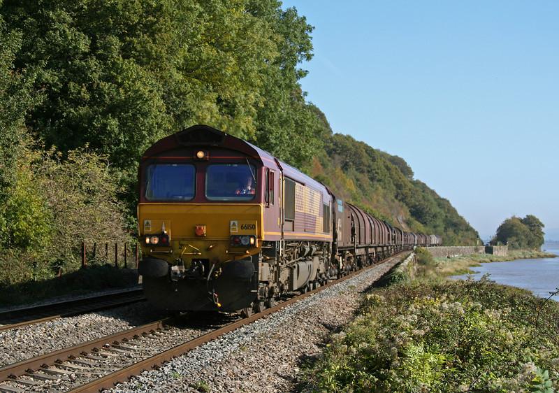 66150, 09.39 Round Oak-Margam, Gatcombe, 8-10-09.