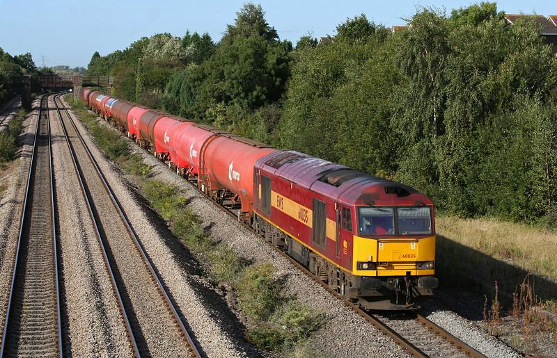 60035, 05.10 Robeston-Westerleigh,  Undy, near Magor, 17-9-09.
