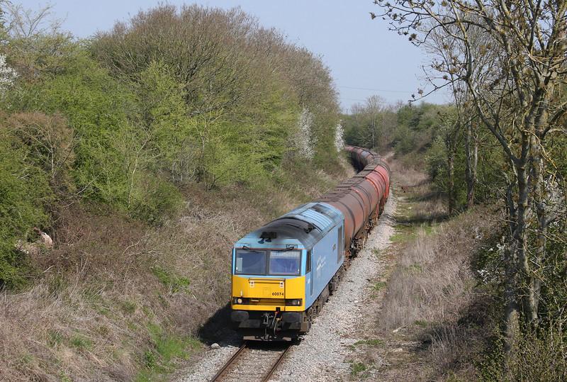 60074, 05.05 Robeston-Westerleigh, Westerleigh, Bristol, 23-4-10.