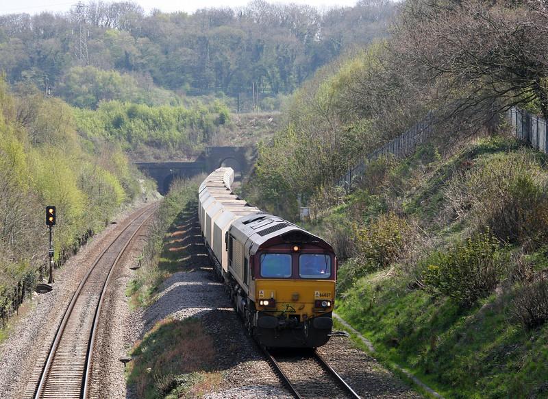 66037, 10.47 Hayes-Moreton-on-Lugg, Cattybrook, Bristol, 23-4-10.