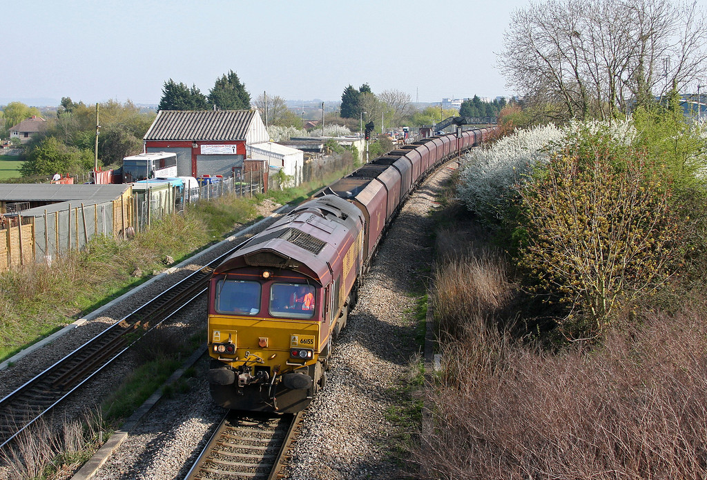 66155, 16.42 Avonmouth Bulk Handling Terminal-Aberthaw Power Station, Patchway, Bristol, 23-4-10.