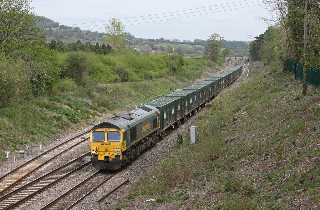 66560, 10.27 Calvert-Bristol Barrow Road RTS, Bathampton, near Bath, 27-4-10.