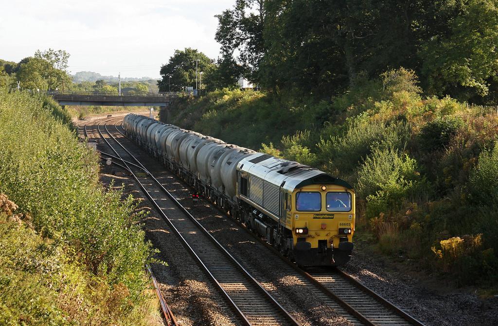 66603, 06.53 Westbury Lafarge-Moorswater Lafarge, Willand, near Tiverton, 18-8-10.