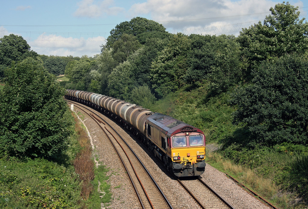 66094, 09.17 Fawley-Plymouth Tavistock Junction Yard, Whiteball, 24-8-10.
