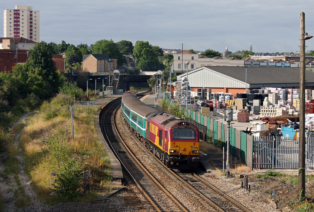 67016/67018, 07.28 Taunton-Bristol Parkway, Lawrence Hill, Bristol, 5-8-10.