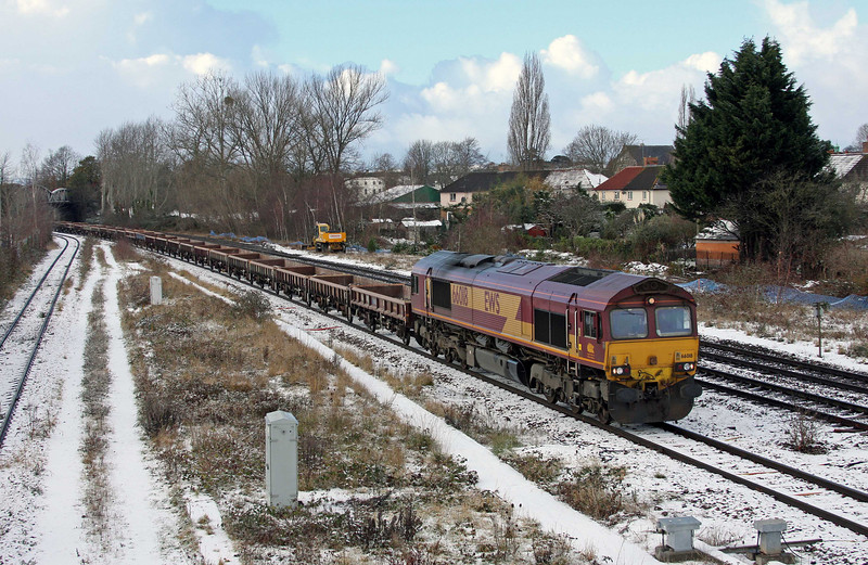 66018, 12.00 Minehead-Whatley Quarry, Taunton 40 Steps Bridge, 17-12-10.