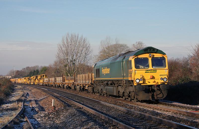 66620, 09.50 Taunton Fairwater Yard-Bristol-Bath-Westbury-Taunton Fairwater Yard, Bathpool, Taunton, 3-12-10.