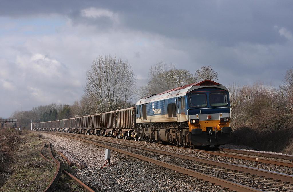 59104, 12.00 Exeter Riverside Yard-Westbury Yard, Bathpool, Taunton, 9-2-10.