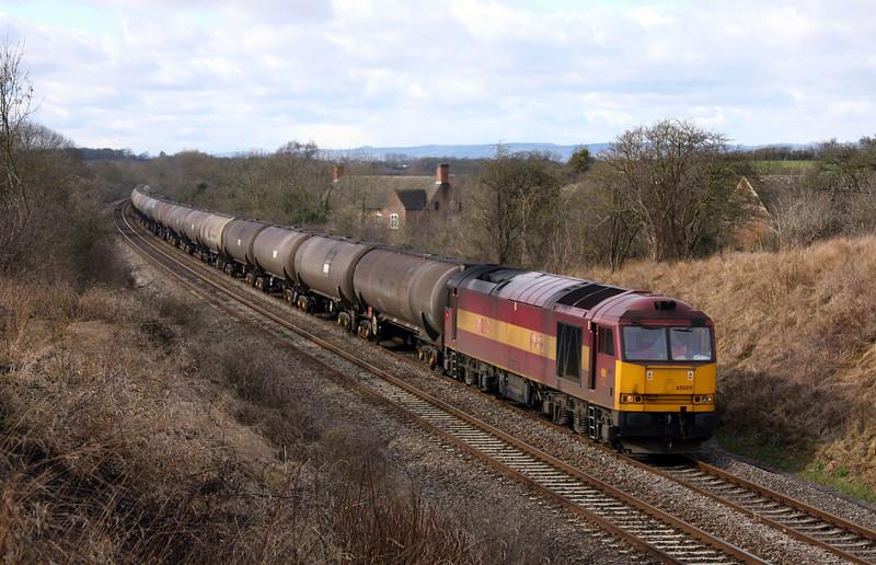 60009, 11.41 Westerleigh-Lindsey, Coaley, Gloucestershire, 26-2-10.