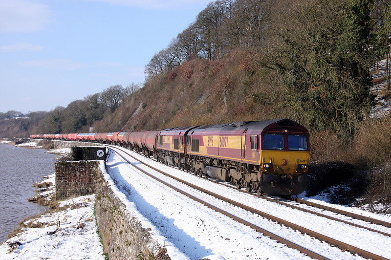 66097/66168, 05.05 Robeston-Westerleigh, Gatcombe, 19-2-10.