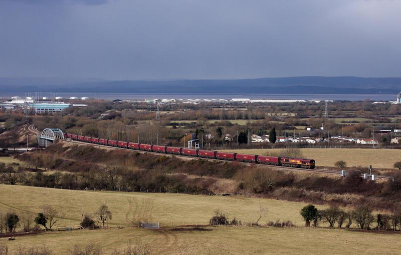 66194, 13.03 Avonmouth Bulk Handling Terminal-Portbury, Hallen Marsh, Bristol, 10-2-10.