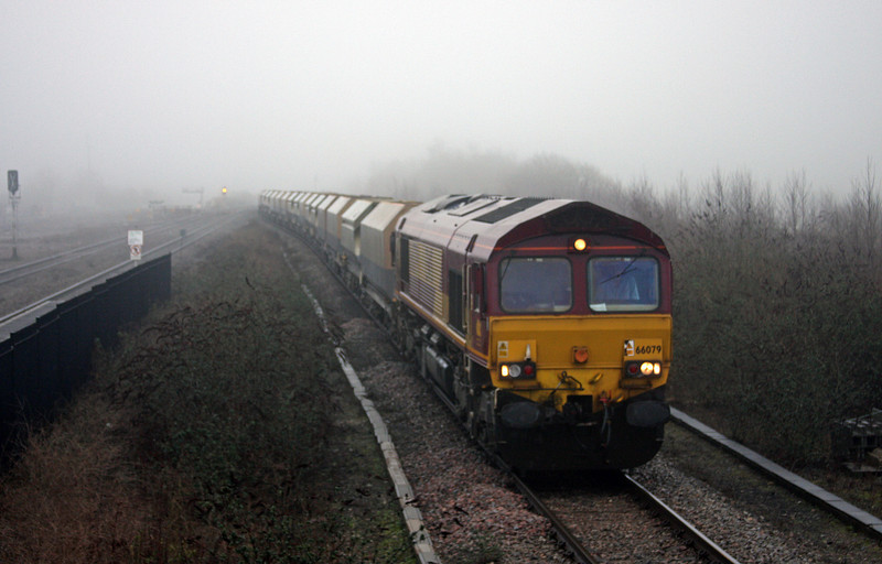 66079, 09.30 Washwood Heath-Neath Abbey Wharf, Severn Tunnel Junction, 22-1-10.
