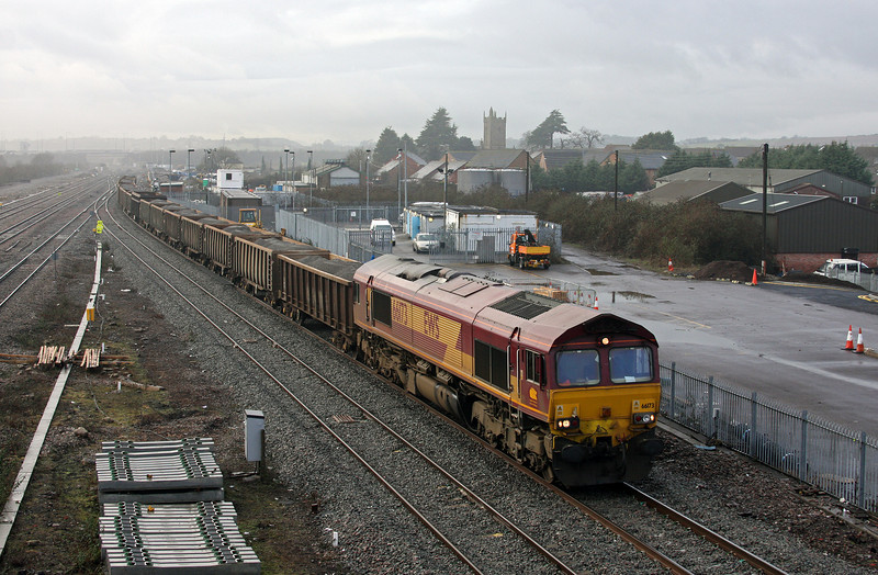 66173, 12.34 Port Talbot Grange Sidings-Lea Interchange, Severn Tunnel Junction, 22-1-10.