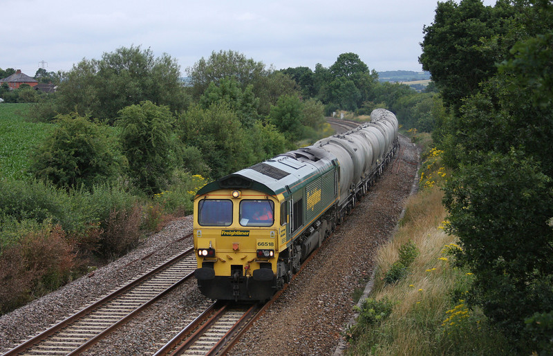 66518, 15.53 Moorswater Lafarge-Westbury Lafarge, Willand, near Tiverton, 12-7-10.