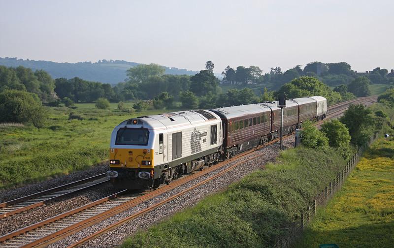 67029, 18.37 Exeter St David's-Toton, Nottinghamshire, Rewe, near Exeter, 4-6-10. DVT 82146.