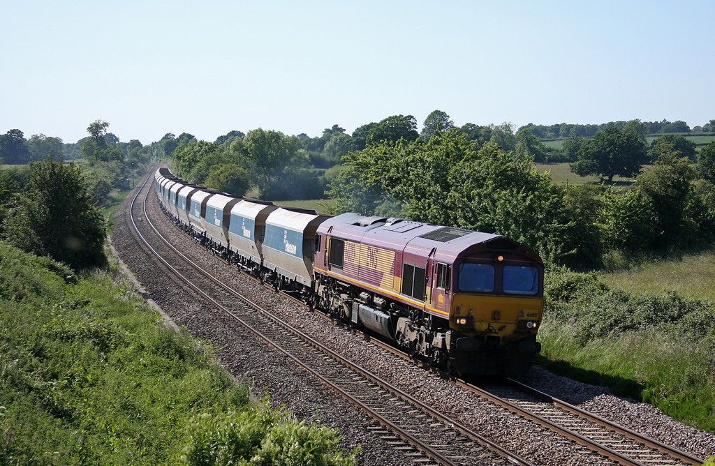 66110, 12.40 Machen-West Drayton, Great Cheverell, near Westbury, 14-6-10.