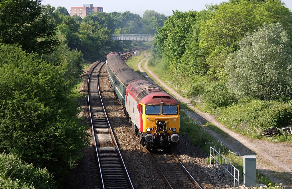 57308/57305, 07.28 Taunton-Bristol Parkway, Lockleaze, Bristol, 3-6-10.