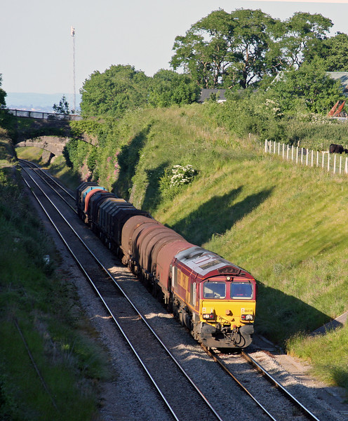 66039, Wolverhampton-Margam, Wye Valley Junction, Chepstow, 16-6-10.