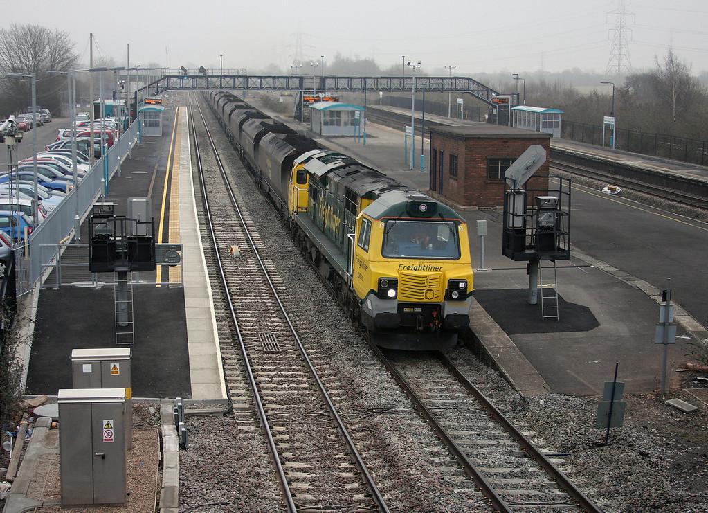 70006, 06.44 Avonmouth Bulk Handling Terminal-Rugeley Power Station, Severn Tunnel Junction, 16-3-10.