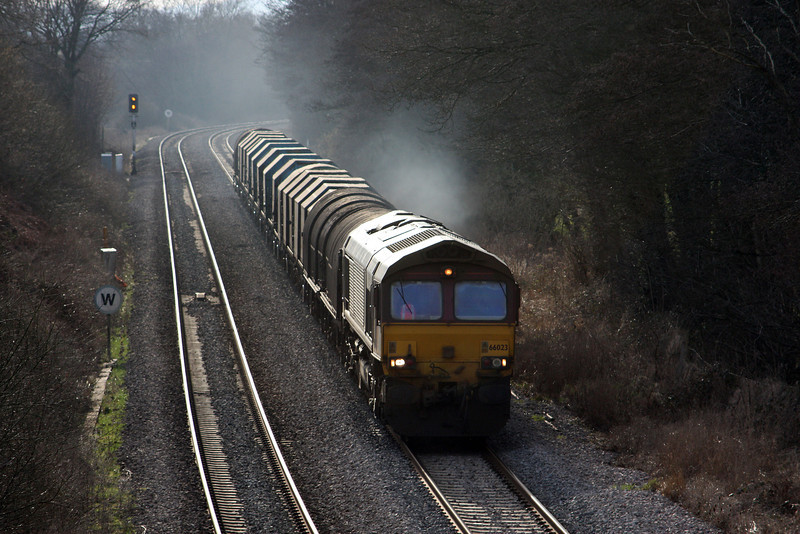 66023, 11.55 Margam-Round Oak, Cliff Farm, Lydney, 2-3-10.