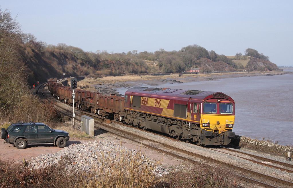 66180, 10.10 Corby-Margam, Purton, near Lydney, 16-3-10.