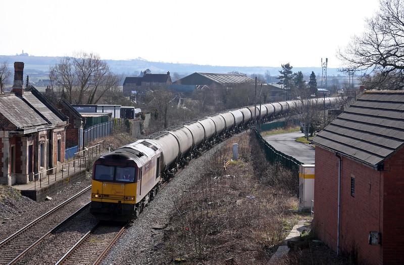 60071, 11.41 Westerleigh-Lindsey, Charfield, Gloucestershire, 16-3-10.