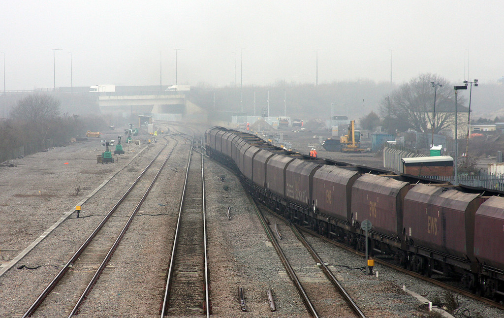 66163, 08.32 Avonmouth Bulk Handling Terminal-Tower Colliery, Severn Tunnel Junction, 16-3-10.